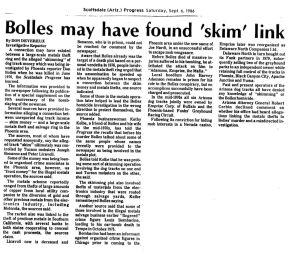 Part 2: The Bolles Murder: A Case of CuriousCoincidences